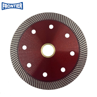 105*1.4/1.0*10*110*20mm Hot Press 4inch High Quality Turbo Diamond Saw Blade for Cutting Tile ,porcelain