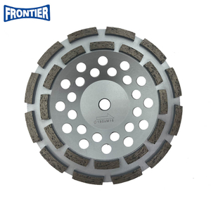 180*35/28*8*5*24*M16 Diamond Cup Grinding Wheel for Concrete , Stone