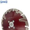 125*39*2.4/1.4*7*9*22.23mm Hot Press Sintered AG-Blade with Protective Teeth for Cutting Concrete