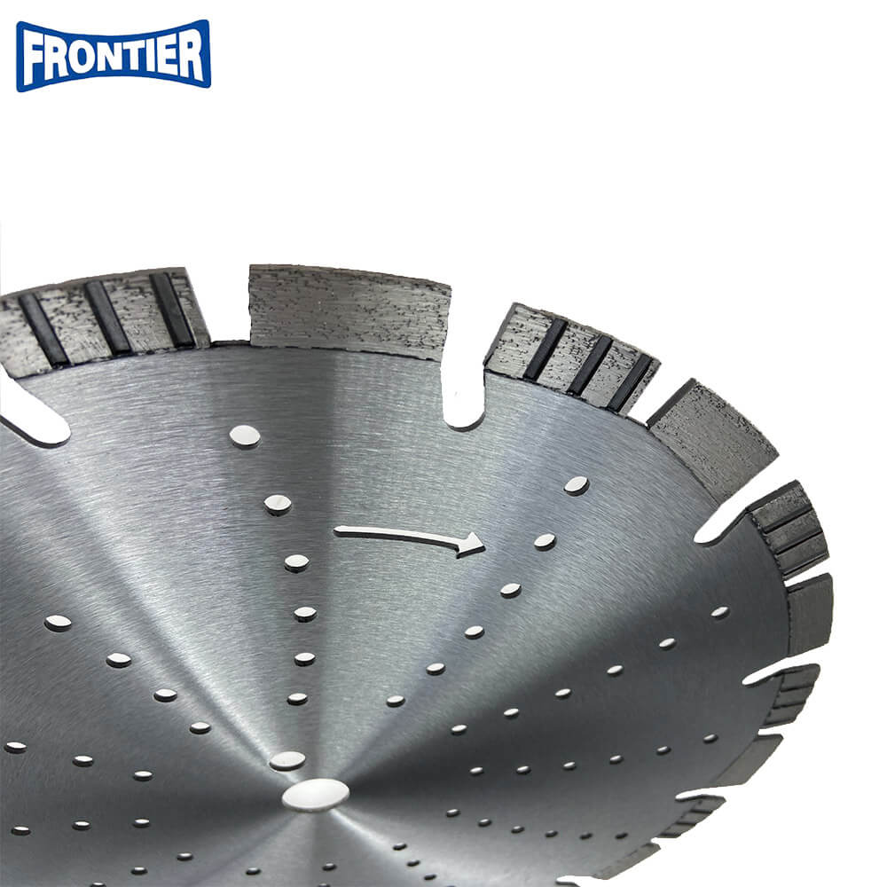 350**10*25.4 Best Qulaity Laser Welded Diamond Saw Blade for Granite