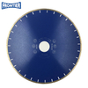 "16""inch 416x8x60mm silver brazed Sandwich silent diamond saw blade for cutting marble"