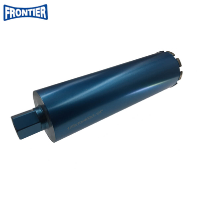 Hign class 108mm diameter 410mm length diamond core drill bit for reinforced concrete