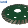 150*2.6/1.4*9*22.23mm 6inch Hot Press turbo diamond saw blade for dry cutting reinforced concrete