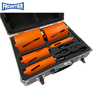 5pcs laser welded diamond core bit set with M16 thread for dry cutting granite, reinforced concrete