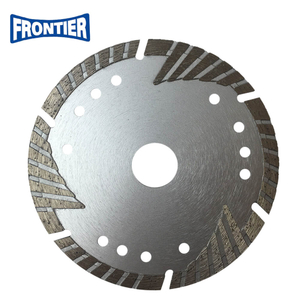 "125mm 5""inch MG turbo diamond saw blade with protection teeth"