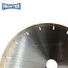 "230*44.1/40.2*2.5/2.0*10*16T*25.4mm 9"" inch 10mm height silver brazed diamond saw blade for cutting marble"