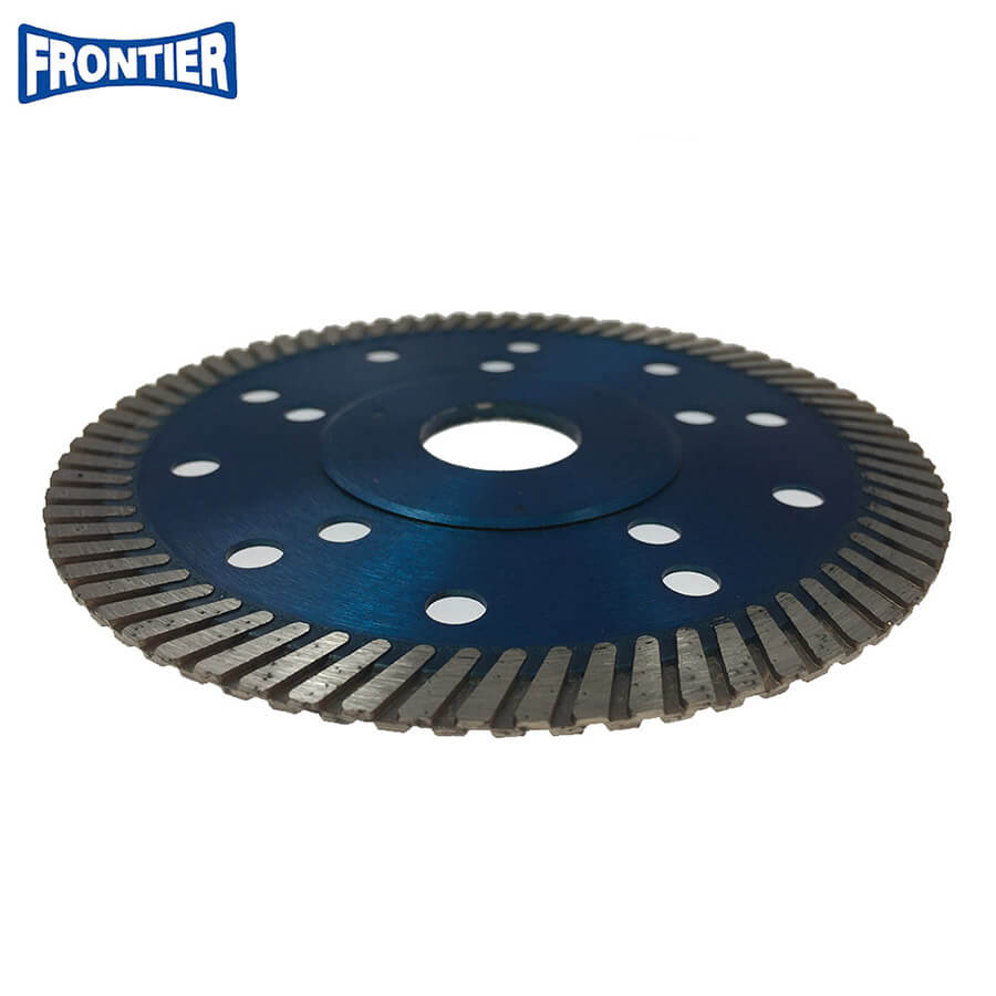 115*2.2/1.2*10*72*22.23mm 4.5 inch Hot Press diamond turbo saw blade for dry cutting reinforced concrete