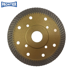 115*2.0/1.2*12*72*22.23mm with steel plate Hot Press 4.5inch diamond fine turbo saw blade for dry cutting reinforced concrete