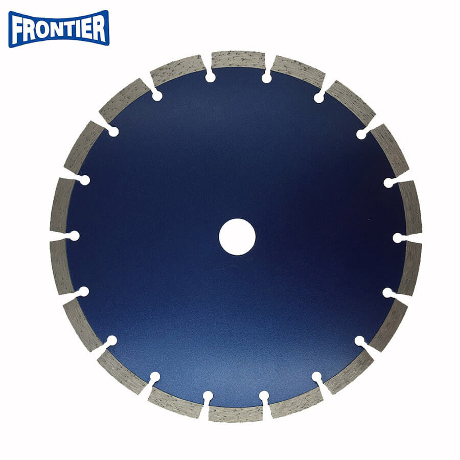 9inch 230x10mm Segmented dry cutting diamond saw blade