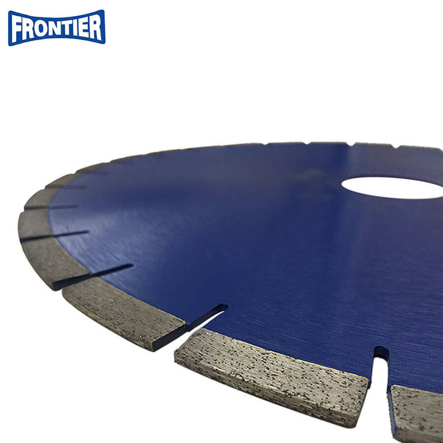 "16""inch 414x12x60mm with 5 level diamond segment silver brazed diamond saw blade for cutting granite"
