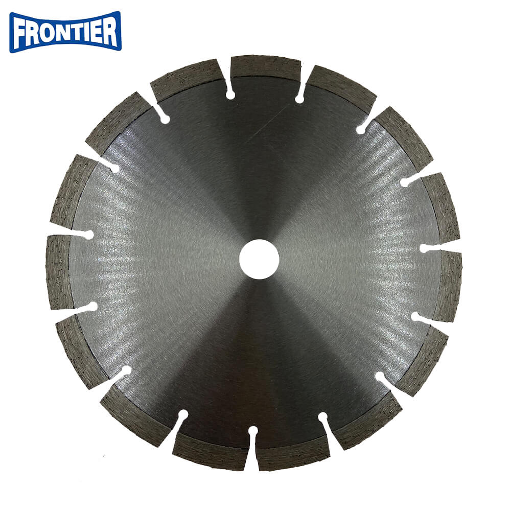 230*40*2.5/1.8*12*15*22.23 Laser Welded Diamond Disc for Cutting Reinforced Concrete