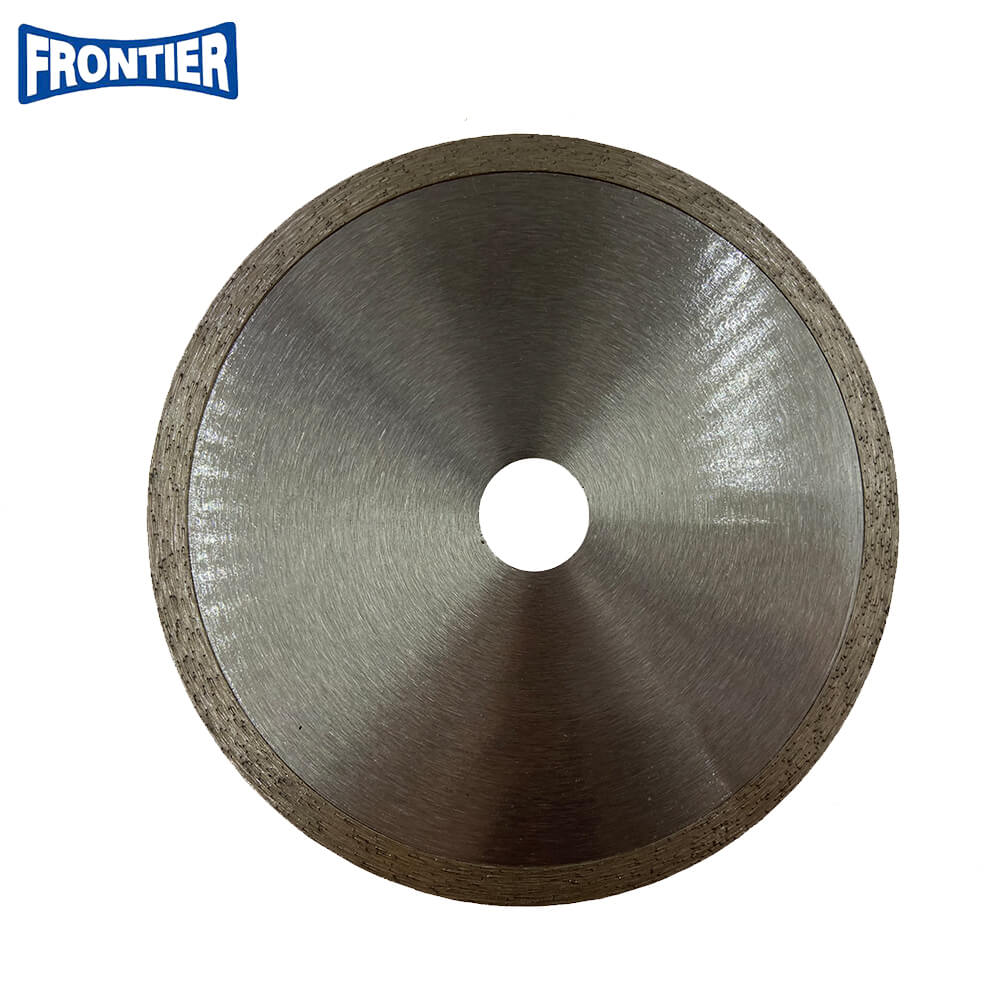 150*2.4/1.4*7*22.23mm cold Press 6inch continuous Rim diamond saw blade for cutting tile
