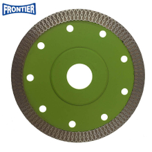 115*1.2/0.8*10*100*22.23mm Hot Press special ultra thin turbo diamond saw blade for cutting hard ceramic tile
