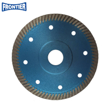 125*1.2/0.8*10*78*22.23mm Hot Press 5inch diamond turbo saw blade for cutting tile with reinforced center