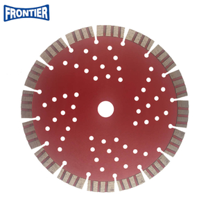 230*2.8/1.8*15*16T*22.23mm Cold Press 9inch sintered diamond segmented turbo diamond saw blade for cutting beton